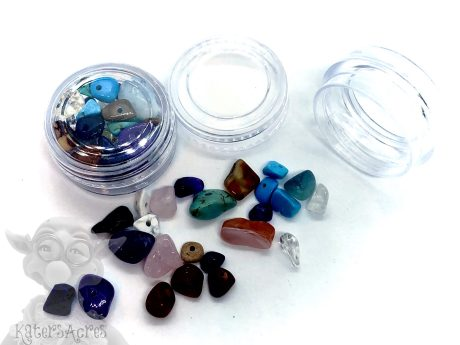 Synthetic Gemstone Chip Beads from KatersAcres