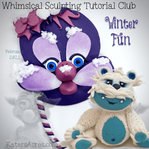 WSTC February Polymer Clay Tutorials by KatersAcres