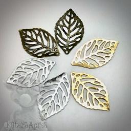 Metal Leaves from KatersAcres
