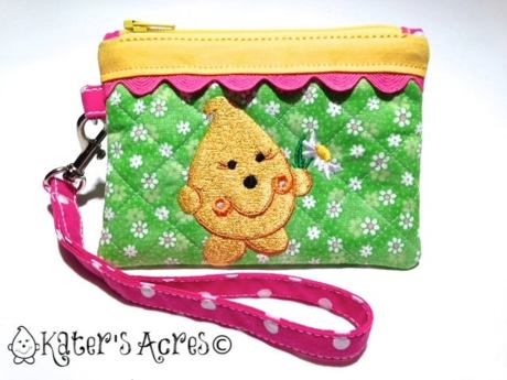 Daisy Parker Wristlet from Kater's Acres
