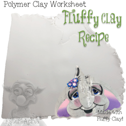 Fluffy Clay Recipe Worksheet from KatersAcres