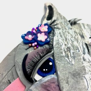 Elephant Mask Wall Hanging Tutorial by KatersAcres