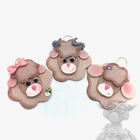 Sheep Ornaments by Kater's Acres