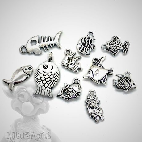 Fish Charms from Kater's Acres