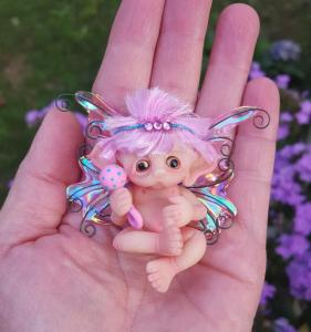 Fairy with Rattle by Gail Wilson