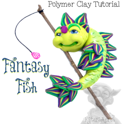Fantasy Fish Tutorial by Katie Oskin