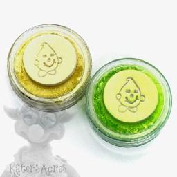 Citrus Splash LIMITED EDITION Mica Powder Set: Lemon & Lime from Kater's Acres