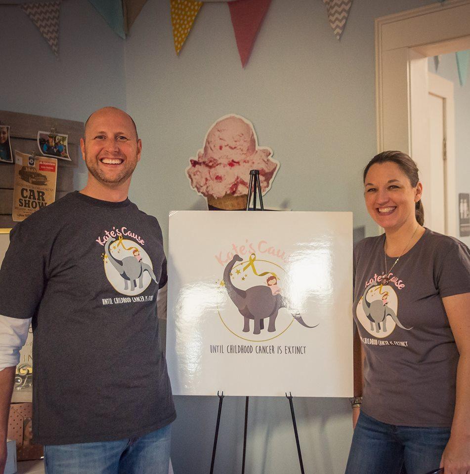 An Ice Cream Social for Kate on Mommy's Birthday