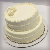 Buttercream frosted Sponge Cake