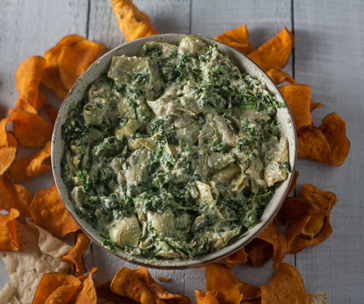 Spinach and Artichoke Dip {Vegan, Paleo and Whole30}