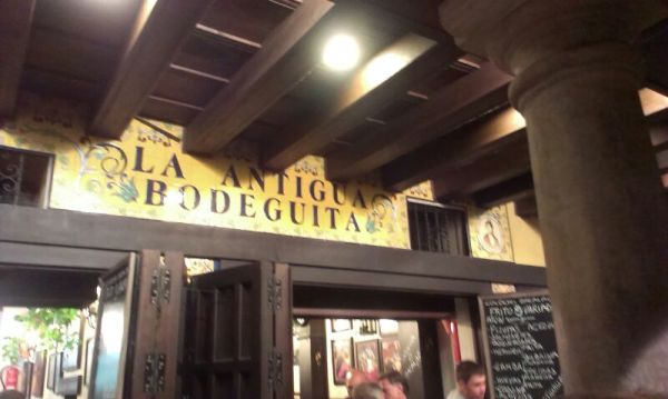 Bodeguita! You'll find friendly staff and cheap drinks here