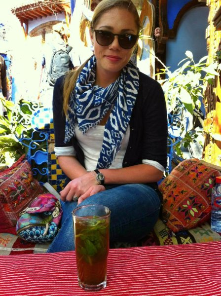 moroccan tea in morocco