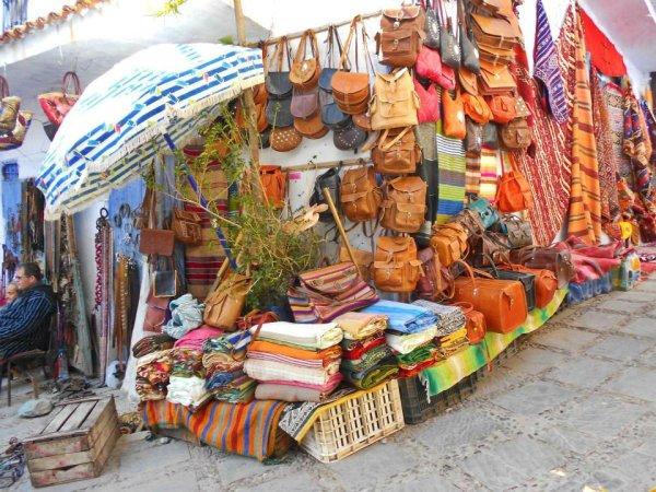shoppingg in morocco