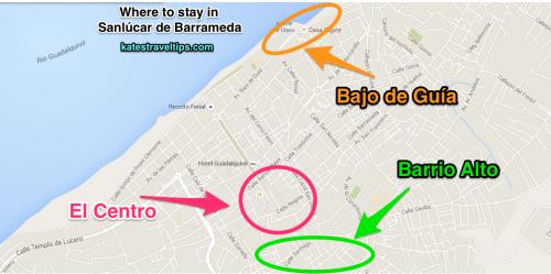 neighborhoods of sanlucar