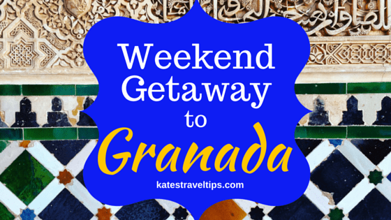 weekend getaway to granada
