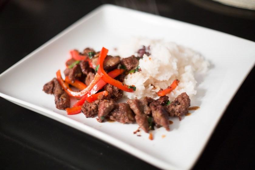 Korean Beef, Kate Style Petite