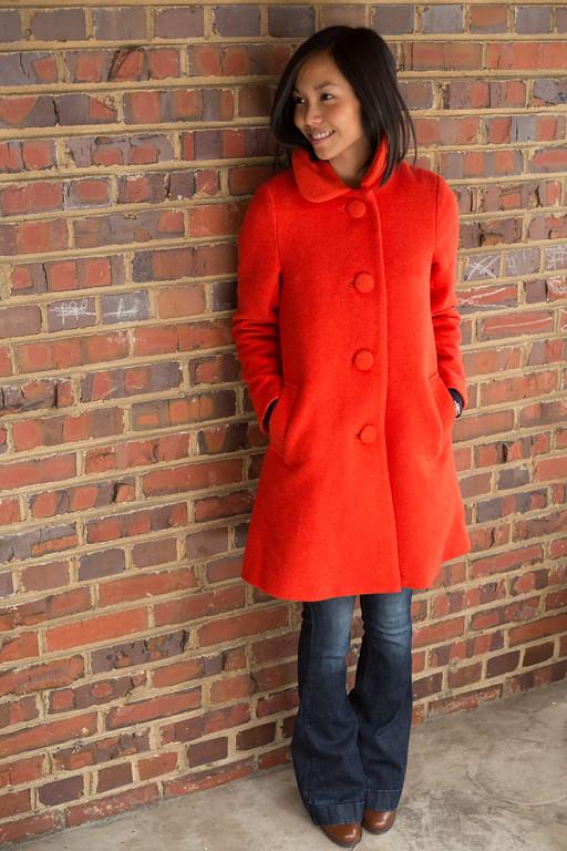 ASOS Petite Swing Dolly Coat, Kate Style Petite