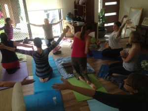 Yoga Mamas!