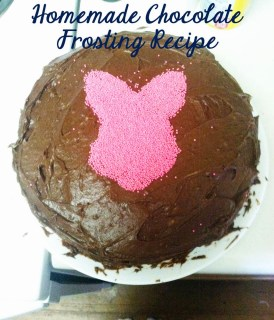 Homemade dairy free chocolate frosting recipe