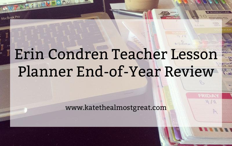 Erin Condren Review