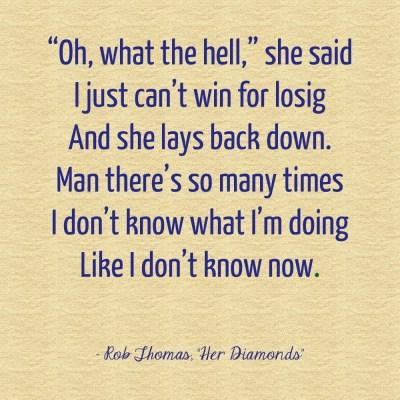 Her Diamonds lyrics