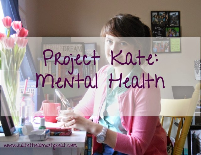 Project Kate: mental health