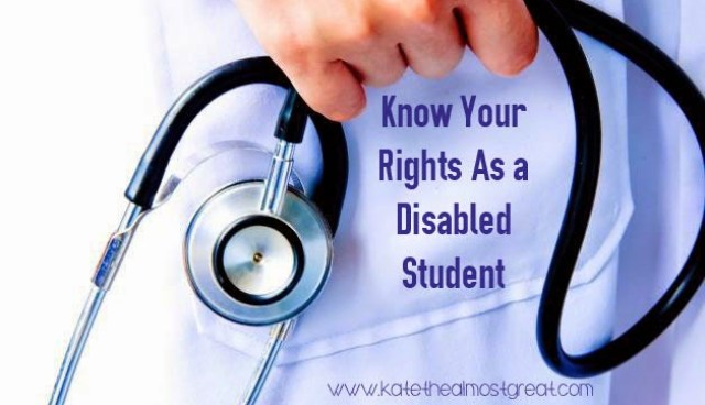 disabled student rights