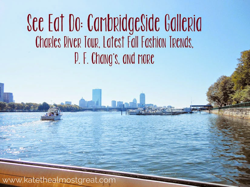 See, Eat, Do: CambridgeSide Galleria Kate the (Almost) Great