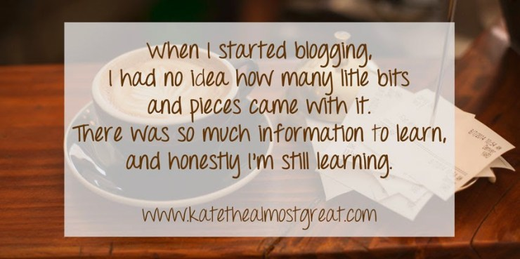 Blogging for beginners Kate the (Almost) Great