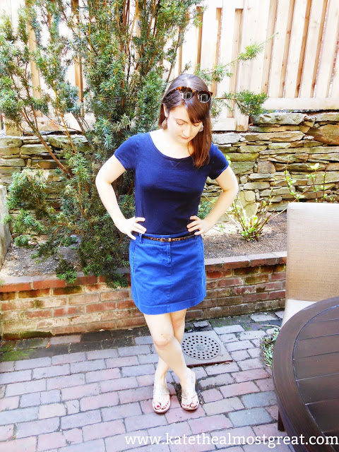 Pinterest Clothes Experiment Outfit 3 - Kate the (Almost) Great