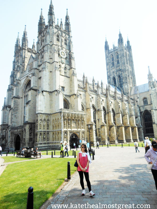 Canterbury Cathedral - Kate the (Almost) Great
