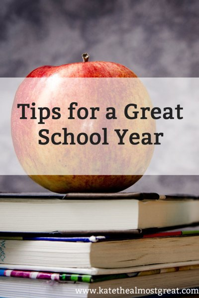 Tips for a Great School Year