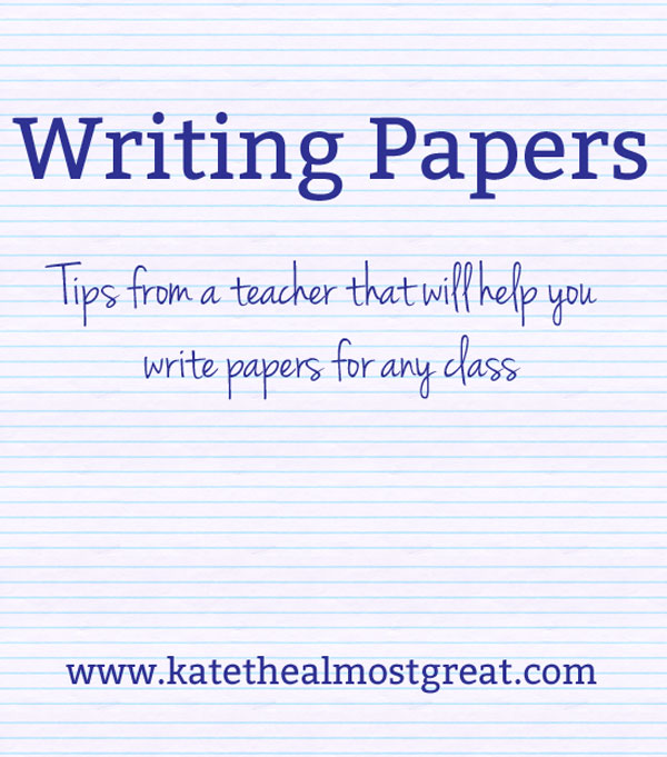 kate the almost great boston lifestyle blog writing papers  writing papers tips from a teacher
