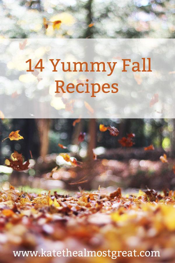 14 Yummy Fall Recipes