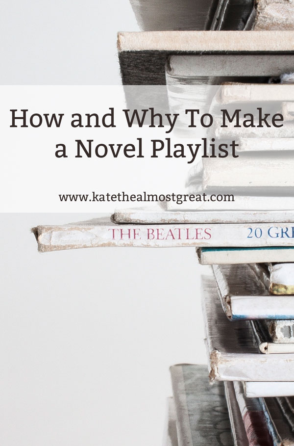 How and why to make a novel playlist