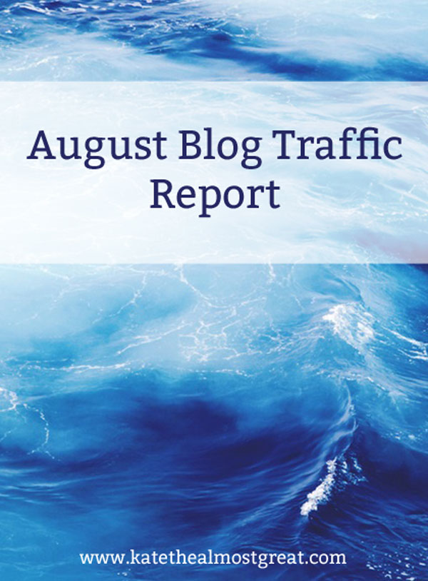 August Blog Traffic Report