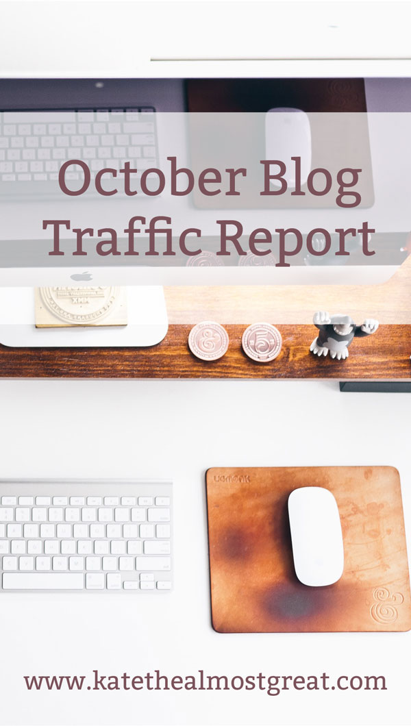 What I Did To Increase Traffic to My Blog in October