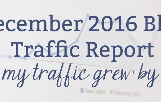 December 2016 Blog Traffic Report
