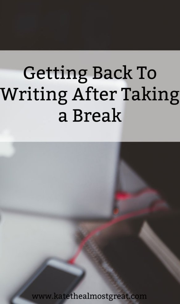 Whether you hit writer's block or life got in the way, you may have taken a break from writing. Now you want to start writing again, but you're nervous about your success. Check out these 5 tips for starting to write again after taking a break!