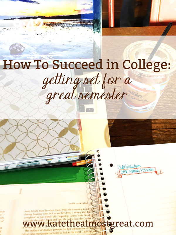 Starting a new semester? Check out these 5 tips that will show you how to succeed in college, whether this is your first semester or your last.
