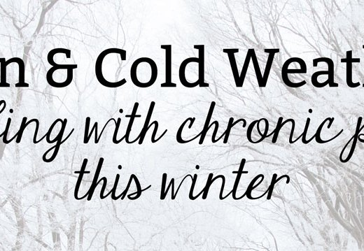Pain and Cold Weather: Dealing with Chronic Pain This Winter