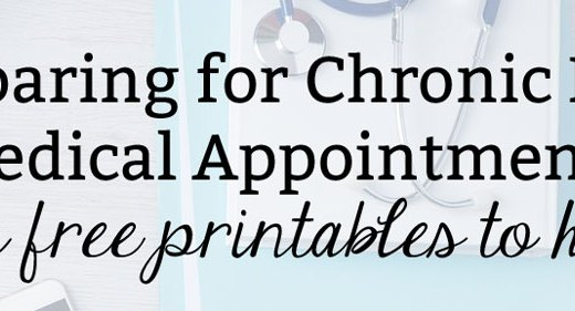 Preparing for Chronic Pain Medical Appointments