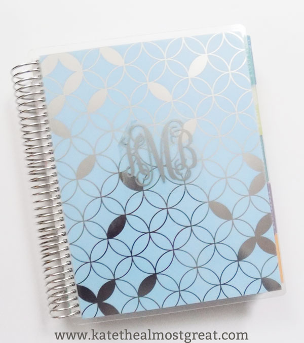 Sharing how I use my Erin Condren planner to help you use yours to the best of your ability.