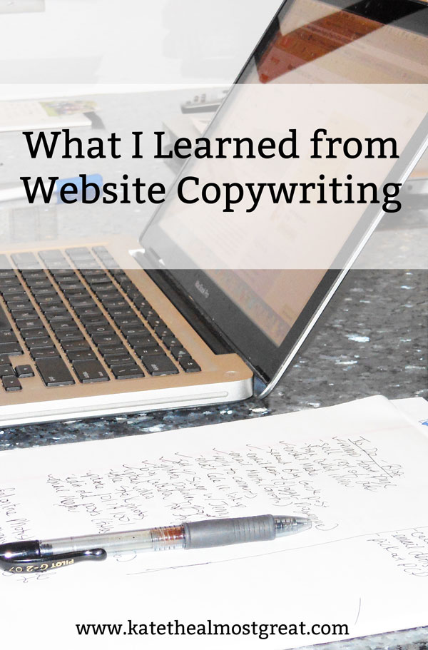 Are you trying to be a professional writer, aka make money writing? Try website copywriting, which I strongly suggest fiction writers try at least once! Check out how it made me a better writer and how to get started.