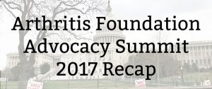 Arthritis Foundation Advocacy Summit: 2017