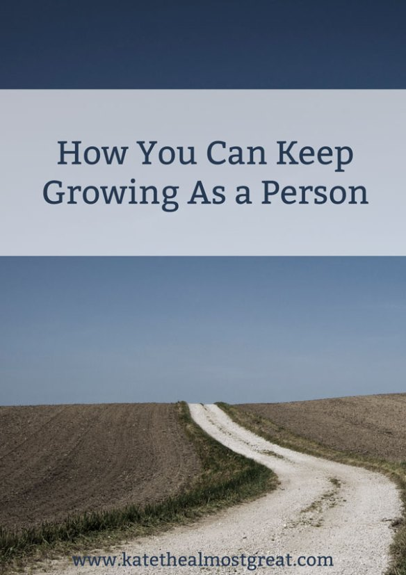 Just because you leave college doesn't mean that you don't grow any more. Here are some things you can do.