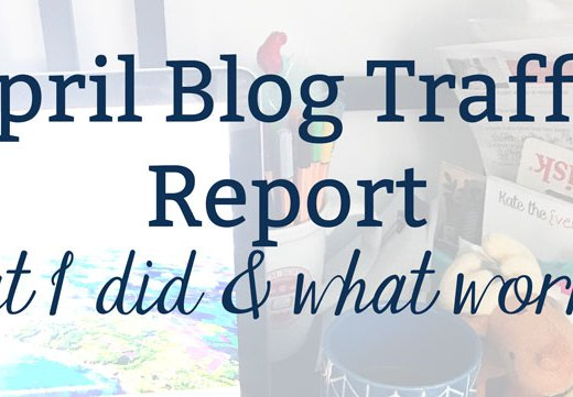 April Website Traffic Report