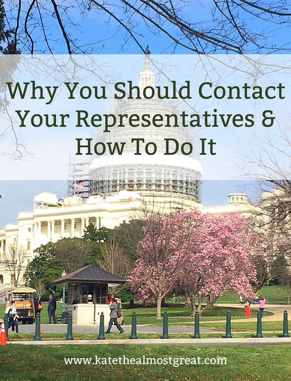 One of the great things about democratic governments is that the average citizen does (or should) have a voice. Yes, you vote for who represents you, but you can also contact them and ask them to vote certain ways or to represent you in other ways. If you're not doing that already, you should! Here's why and how to do it, including email and phone example of what to say when you call your congressman, senator, or MP.
