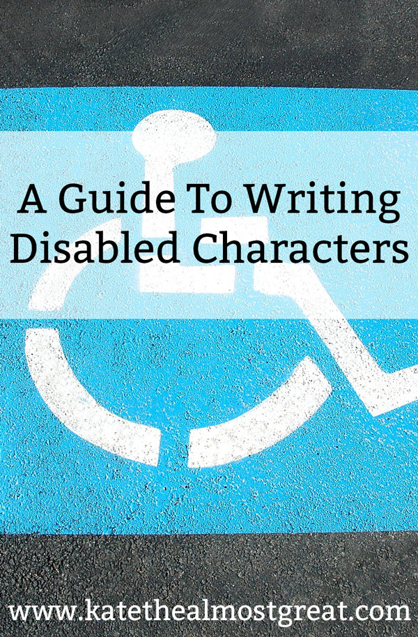 People with disabilities are a huge part of the world, and that can include everything from amputees to learning disabilities. If you're going to write a book with a disabled character, you should know that there is a right and a wrong way to do that. This is a guide to help you write a disabled character correctly, both from a standpoint of correct information as well as not demonstrating ableism within your book.
