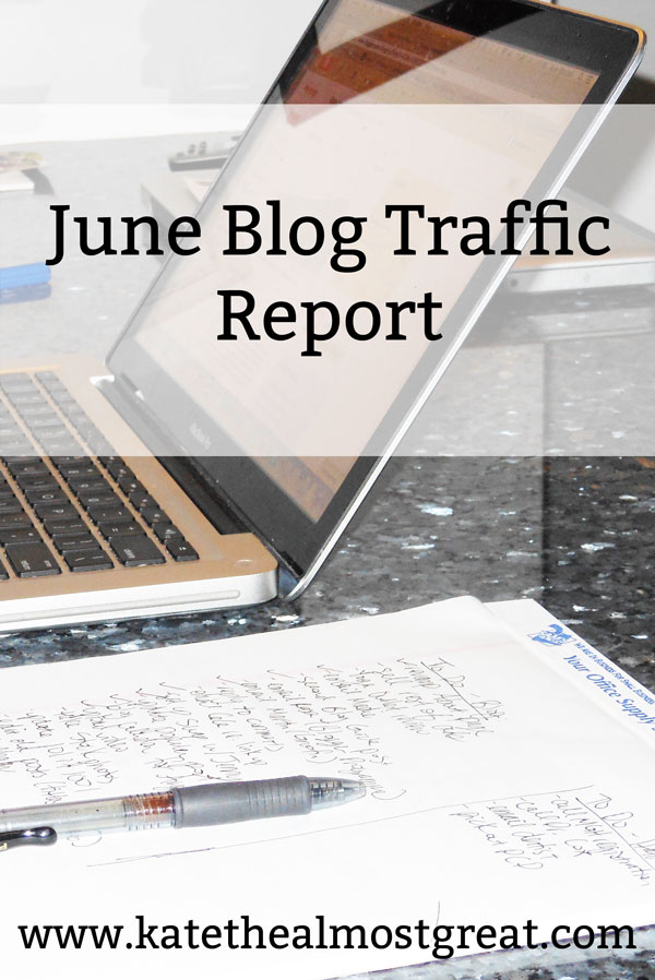 Sharing my June blog traffic report to help you grow your traffic. Here are the things I did in June to grow my traffic, what worked, and what didn't.